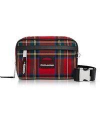 Marc Jacobs - Red Tartan Sport Belt Bag - Lyst