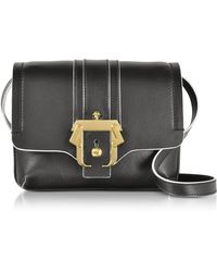 Paula Cademartori | Black Leather Gigi Crossbody Bag | Lyst