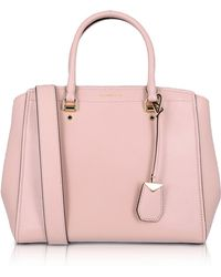Michael Kors - Soft Polished Leather Benning Large Satchel Bag - Lyst