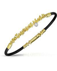 Orlando Orlandini - Diamond 18k Gold Bracelet - Lyst