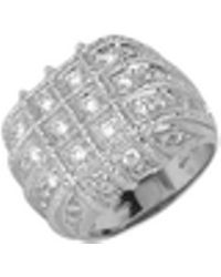 Torrini - Wallstreet - 18k White Gold Diamond Ring - Lyst