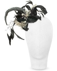 Nana' - Cilla - Black And White Flower Comb - Lyst