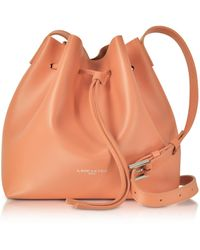 Lancaster Paris - Pur Smooth Leather Bucket Bag - Lyst