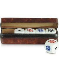 FORZIERI - Poker Dice With Leather Carrying Case - Lyst