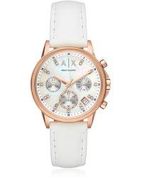 Armani Exchange - Ax4364 Lady Banks Women's Watch - Lyst