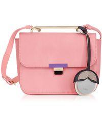 Furla - Rose Quartz Leather Elisir Mini Crossbody Bag - Lyst