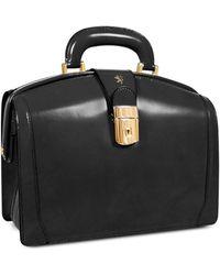 Pratesi - Ladies Polished Italian Leather Briefcase - Lyst