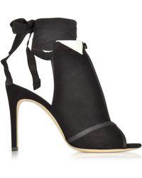 864f66405 Olgana Paris - La Jolie Black Suede High Heel Pump - Lyst