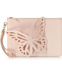 Sophia Webster - Flossy Butterfly Leather Clutch - Lyst