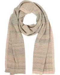 Marina D'este - Striped Wool & Cashmere Scarf - Lyst