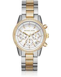 Michael Kors - MK6474 Ritz Women's Watch - Lyst