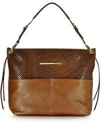 Francesco Biasia - Creola Large Leather Shoulder Bag - Lyst