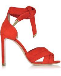Nicholas Kirkwood - Women's Red Leather Sandals - Lyst