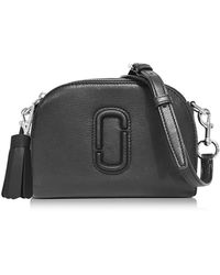 Marc Jacobs - Shutter Black Leather Small Camera Bag - Lyst