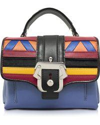 Paula Cademartori - Dun Dun Multicolor Leather Satchel - Lyst