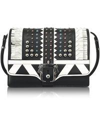 Paula Cademartori - Alice Studded Leather Bag W/ Fringe - Lyst