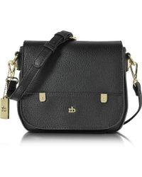 Roccobarocco - Rb - Grainy Eco Leather Crossbody Bag - Lyst