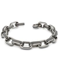 Zoppini - Zo-chain Stainless Steel Oval Link Bracelet - Lyst
