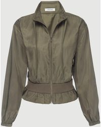 FRAME - Cinched Crop Jacket - Lyst