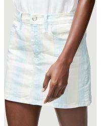 FRAME Le Mini Skirt