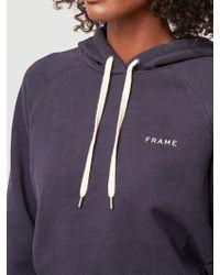FRAME - Frame Shrunken Hoodie - Lyst