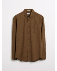 Frank And Oak - The Odessa Chambray Shirt - Lyst