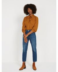 Frank And Oak - The Billie Non-stretch Denim - Classic Indigo - Lyst