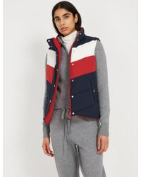 Frank And Oak - Reversible Puffer Vest - Navy - Lyst