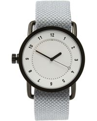 Frank And Oak - Tid No.1 White / Mineral Twain Wristband Watch In Mineral - Lyst