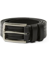 Frank And Oak - Moulded Italian Belt In Black - Lyst