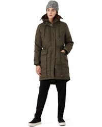 Frank And Oak - Fishtail Parka In Military - Lyst
