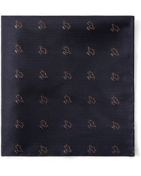Frank And Oak - Natural Wonder Pocket Square In Navy - Lyst