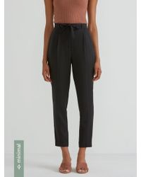 Frank And Oak - The Grant Pant In True Black - Lyst