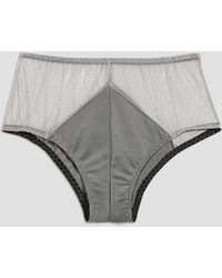 Frank And Oak - Sokoloff X Celeste Brief In Grey - Lyst