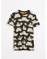 Frank And Oak - Mickey Mouse® All Over Print T-shirt - White - Lyst