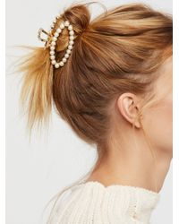 Free People - Pearl Of Wisdom Claw - Lyst