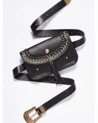 Free People - Tara Tassel Belt Bag - Lyst