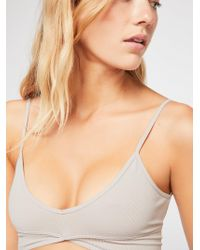 Free People - Barely There Seamless Longline Bra By Intimately - Lyst
