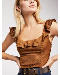 Free People - Stay With You Top - Lyst