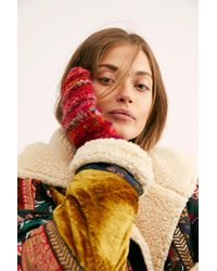 Free People - First Frost Recycled Silk Mitten By Windhorse - Lyst