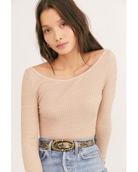 Free People - Sprinkled In Gold Bodysuit By Intimately - Lyst
