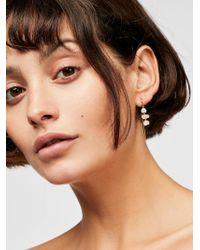 Free People - Tai Opal Threader Earrings - Lyst