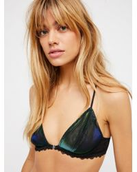 Free People - Midnight Hour Triangle Bra By Intimately - Lyst