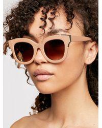 Free People - Skinny Dip Sunglasses - Lyst