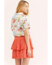 76b3bbea9ac2 Free People - Costello Skirt By Endless Summer - Lyst