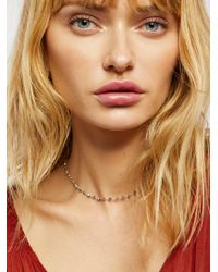 Free People | Accessories Jewellery Necklaces Essential Stone Necklace | Lyst