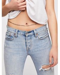Free People - Raza Belly Chain - Lyst