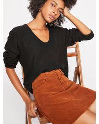 Free People - Forever Cashmere V-neck Jumper - Lyst