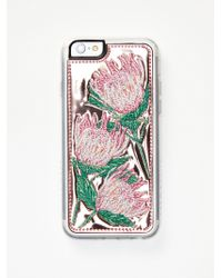 Free People - Accessories > Tech Wild West Embroidered Case - Lyst
