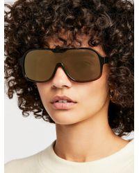 Free People - Laura Aviator Sunglasses - Lyst